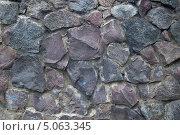 Каменная стена. Стоковое фото, фотограф Виталий Маевский / Фотобанк Лори