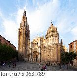 Купить «Собор Святой Марии в Толедо. Испания», фото № 5063789, снято 22 августа 2013 г. (c) Яков Филимонов / Фотобанк Лори