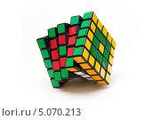 Кубик Рубика 5х5 (2013 год). Редакционное фото, фотограф Olga Far / Фотобанк Лори