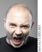 Купить «Портрет агрессивного мужчины», фото № 5093561, снято 25 сентября 2013 г. (c) Максим Бондарчук / Фотобанк Лори