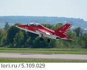 Купить «Самолет Як-130 на МАКС-2013», эксклюзивное фото № 5109029, снято 28 августа 2013 г. (c) Alexei Tavix / Фотобанк Лори