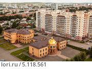 Купить «Кузбасская митрополия», фото № 5118561, снято 6 сентября 2013 г. (c) Константин Челомбитко / Фотобанк Лори