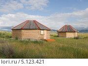 Купить «Хакасская юрта в музее Салбык», эксклюзивное фото № 5123421, снято 12 июля 2013 г. (c) Шичкина Антонина / Фотобанк Лори