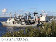 Купить «Корабли в порту приписки», фото № 5133629, снято 18 августа 2013 г. (c) Иван Тимофеев / Фотобанк Лори