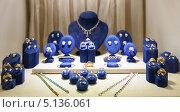 Купить «Витрина магазина с ювелирными изделиями», фото № 5136061, снято 26 апреля 2013 г. (c) Яков Филимонов / Фотобанк Лори