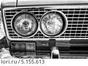 Купить «Фары старого советского автомобиля ВАЗ-2103, выставка The oldtimer show, Paaren im Glien, Германия», фото № 5155613, снято 19 мая 2013 г. (c) Sergey Kohl / Фотобанк Лори