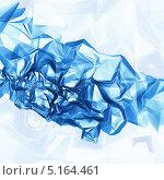 Голубой абстрактный фон. Стоковая иллюстрация, иллюстратор Виктор Застольский / Фотобанк Лори