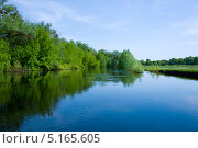 Река Сула. Стоковое фото, фотограф Мария Тильда / Фотобанк Лори