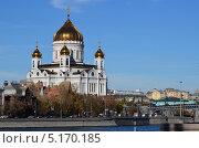 Храм Христа Спасителя в Москве (2013 год). Редакционное фото, фотограф Илья Сладков / Фотобанк Лори