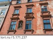 Старое здание во Львове (18 в.) (2013 год). Стоковое фото, фотограф Инесса Скрипкина / Фотобанк Лори