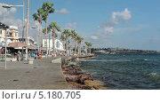 Купить «Набережная Пафоса, Кипр», видеоролик № 5180705, снято 17 октября 2013 г. (c) Кекяляйнен Андрей / Фотобанк Лори
