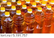 Купить «Подсолнечное масло в бутылках», фото № 5191757, снято 3 апреля 2020 г. (c) FotograFF / Фотобанк Лори