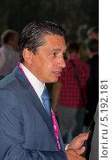 Олег Сиенко - гендиректор корпорации УВЗ (2013 год). Редакционное фото, фотограф Татьяна Глухова / Фотобанк Лори
