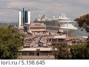 Морской вокзал в Одессе (2013 год). Редакционное фото, фотограф Евгений Калищук / Фотобанк Лори