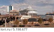 Одесса. Морской пассажирский комплекс. Редакционное фото, фотограф Евгений Калищук / Фотобанк Лори