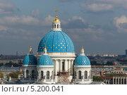 Троице-Измайловский собор (2013 год). Стоковое фото, фотограф Наталья Есипова / Фотобанк Лори