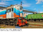 Тепловоз (2012 год). Редакционное фото, фотограф сергей юренков / Фотобанк Лори