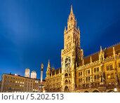 Купить «Новая ратуша Мюнхена», фото № 5202513, снято 23 марта 2019 г. (c) Sergey Borisov / Фотобанк Лори