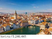 Купить «Город Цюрих, Швейцария», фото № 5246441, снято 20 марта 2011 г. (c) Sergey Borisov / Фотобанк Лори