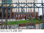 Купить «Санкт-Петербургский Городской Суд. Новое здание», фото № 5248381, снято 6 ноября 2013 г. (c) Тавруева Надежда / Фотобанк Лори