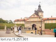 Княжеский замок (2013 год). Редакционное фото, фотограф Владислав Тропин / Фотобанк Лори