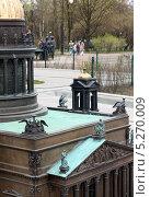 Детали макета Исаакиевского собора (2012 год). Редакционное фото, фотограф Инна Горохова / Фотобанк Лори