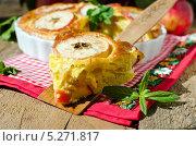 Купить «Кусок яблочного пирога  на лопатке», фото № 5271817, снято 19 января 2011 г. (c) Татьяна Пинчук / Фотобанк Лори