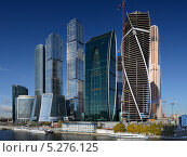 ММДЦ «Москва-Сити» (2013 год). Редакционное фото, фотограф Дмитрий Востриков / Фотобанк Лори