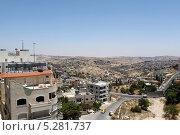 Израиль, вид на жилой район. Стоковое фото, фотограф Олег Пластинин / Фотобанк Лори