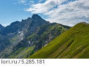 Купить «Лето в Татрах, Польша», фото № 5285181, снято 14 июля 2012 г. (c) Юрий Брыкайло / Фотобанк Лори