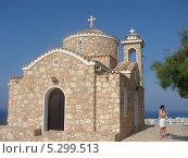 Купить «Храм на острове Кипр», фото № 5299513, снято 27 июня 2012 г. (c) Татьяна Дигурян / Фотобанк Лори