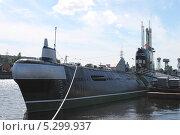 Купить «Подводная лодка у Музея Мирового океана (г. Калининград, Россия)», эксклюзивное фото № 5299937, снято 1 августа 2013 г. (c) Ната Антонова / Фотобанк Лори