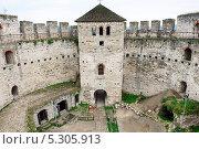 Купить «Крепость в городе Сороки, Молдавия», фото № 5305913, снято 20 июля 2013 г. (c) Сергей Старуш / Фотобанк Лори