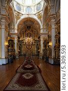Купить «Никольский Морской собор в Санкт-петербурге», фото № 5309593, снято 24 ноября 2013 г. (c) Александр Секретарев / Фотобанк Лори