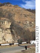 Купить «Горная дорога», фото № 5312117, снято 22 ноября 2013 г. (c) Игорь Веснинов / Фотобанк Лори