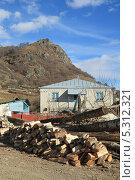 Купить «Приготовленные на зиму дрова», фото № 5312321, снято 22 ноября 2013 г. (c) Игорь Веснинов / Фотобанк Лори