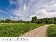 Пейзаж с облаками. Стоковое фото, фотограф Ермихина Оксана / Фотобанк Лори