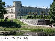 Дворец в Гатчине (2010 год). Редакционное фото, фотограф Инна Горохова / Фотобанк Лори