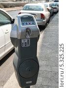 Купить «Паркомат в городе Иерусалим. Израиль», фото № 5325225, снято 12 ноября 2013 г. (c) Александр Овчинников / Фотобанк Лори