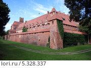 Купить «Рыцарский замок Мальборк. Польша.», фото № 5328337, снято 2 августа 2013 г. (c) Виктор Филиппович Погонцев / Фотобанк Лори