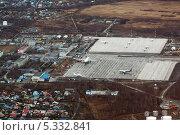 Аэропорт Елизово с высоты птичьего полета. Камчатка (2013 год). Стоковое фото, фотограф А. А. Пирагис / Фотобанк Лори