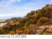 Купить «Заброшенный замок Сагунто (Sagunto), Валенсия, Испания», фото № 5337889, снято 26 августа 2013 г. (c) Яков Филимонов / Фотобанк Лори