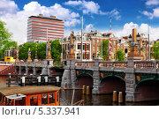 Купить «Каналы в Амстердаме, Нидерланды», фото № 5337941, снято 19 сентября 2013 г. (c) Vitas / Фотобанк Лори