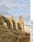 Скалы долины Любви (Каппадокия) (2013 год). Стоковое фото, фотограф Борис Иванов / Фотобанк Лори
