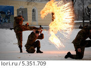 Солдатские учения (2009 год). Редакционное фото, фотограф Дмитрий Владимирович Лыков / Фотобанк Лори