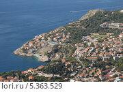 Купить «Дубровник(Dubrovnik). Вид со смотровой площадки», эксклюзивное фото № 5363529, снято 21 сентября 2012 г. (c) Svet / Фотобанк Лори