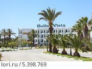 Купить «Отель Bella-Vista (Белла-Виста), Монастир, Тунис», фото № 5398769, снято 4 мая 2012 г. (c) Кекяляйнен Андрей / Фотобанк Лори