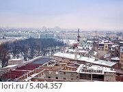 Городской пейзаж. Санкт-Петербург (2008 год). Стоковое фото, фотограф Parmenov Pavel / Фотобанк Лори