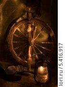 Натюрморт из старых вещей. Стоковое фото, фотограф Ростислав Киевский / Фотобанк Лори