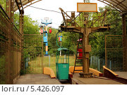 Купить «Канатная дорога в Одессе», фото № 5426097, снято 1 августа 2013 г. (c) Шуба Виктория / Фотобанк Лори